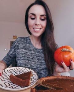 Veganer Pumpkin Pie. Holly Wilkinson. Gesunde Rezepte