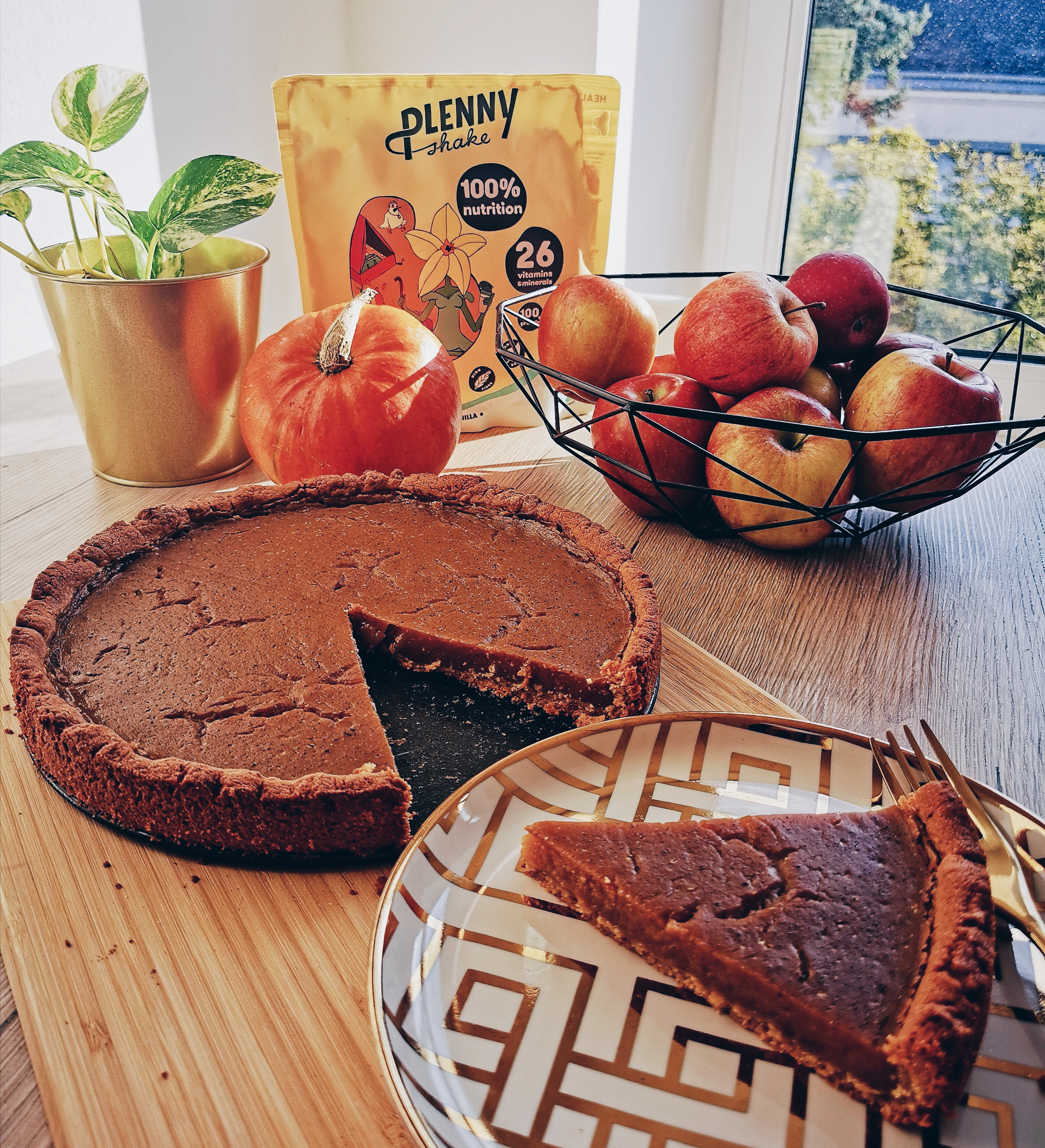 Holly's veganer Pumpkin Pie